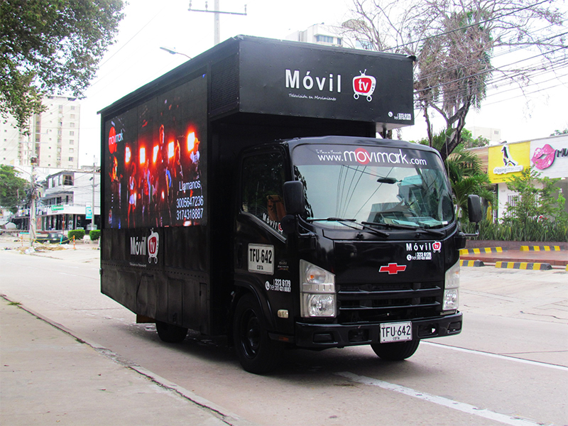 Movil TV - Wista lateral frontal.